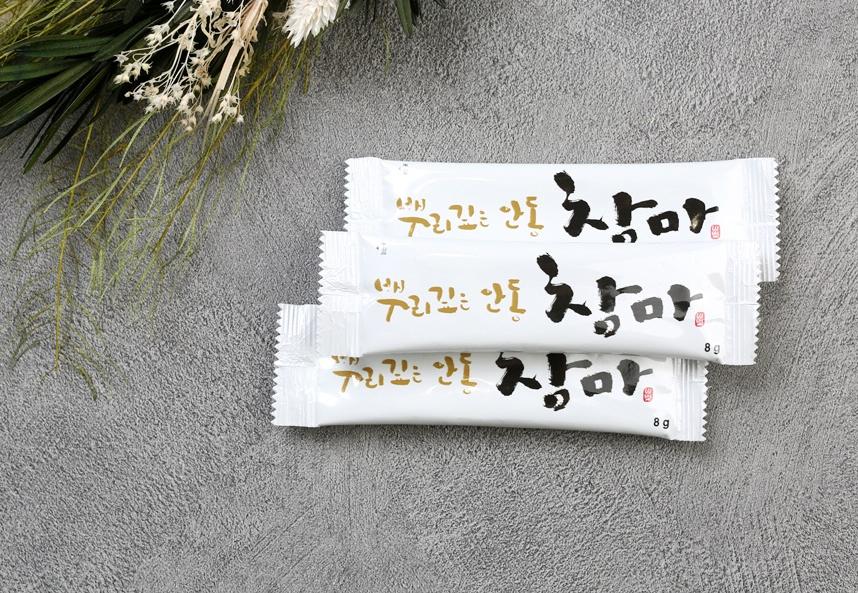 뿌리깊은 안동 참마분말 60포 마가루 / 참마가루 / 스틱형